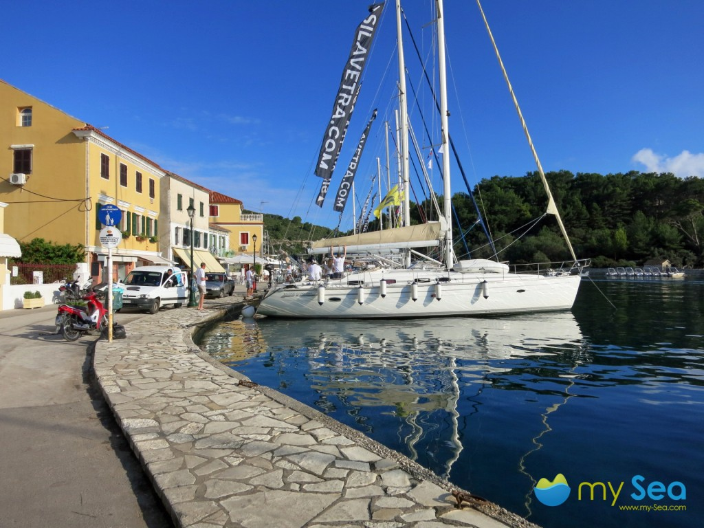 The harbour of Gaios on Paxos